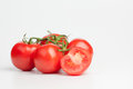 Bunch Of Tomatoes Royalty Free Stock Photo - 35244875