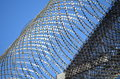Barbwire On A Prison Wall Stock Photos - 35248223
