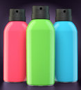 Red, Green And Blue Spray Cans Royalty Free Stock Photography - 35257297