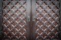 Decorative Old Wooden Church Door Royalty Free Stock Photography - 35258927