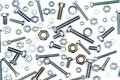 Various Bolts, Nuts, And Washers Royalty Free Stock Photo - 35260505