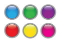 Glossy Buttons Stock Photos - 35275783