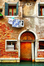Old House In Venice Royalty Free Stock Photography - 35278987