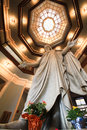 Holy Jesus Statue At Johns Hopkins Dome Stock Photo - 35289000