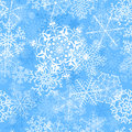 Christmas Seamless Pattern With Snowflakes Royalty Free Stock Photography - 35290437