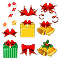 Christmas Icons Royalty Free Stock Photos - 35296538