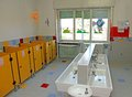 Sinks For Cleaning Of Infants Within A Nursery Stock Images - 35297764