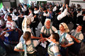 Dancers Dancing In Traditional Slovak Clothes Royalty Free Stock Images - 35298599