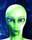 Alien Face 9 Stock Photography - 3532142