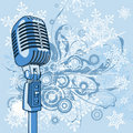 Cool Vintage Microphone Stock Images - 3537804
