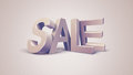 Sale 3d Text Message Royalty Free Stock Photos - 35306108