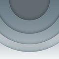 Abstract Grey Paper Circles  Background Stock Photos - 35323393