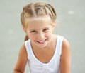 Liitle Girl Close-up Royalty Free Stock Photography - 35331037