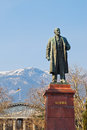 Statue Of Lenin In Yalta Royalty Free Stock Photo - 35331885