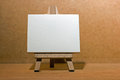 Blank Canvas Easel Royalty Free Stock Images - 35335089
