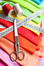 Example Of Colorful Fabric Stock Images - 35335824