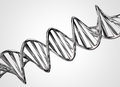 Metal DNA Chain Royalty Free Stock Photos - 35339668