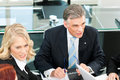 Business People - Team Meeting In An Office Stock Photography - 35350672