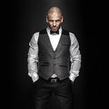 Handsome Man Posing. Royalty Free Stock Images - 35354969