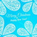 Merry Christmas And Happy New Year. Vector Doodle Royalty Free Stock Photography - 35355007
