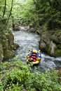 Rafting On A River Stock Photo - 35377550
