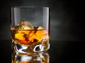 Whisky On The Rocks Royalty Free Stock Photo - 35386395