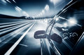 Car Driving Fast Royalty Free Stock Images - 35386619