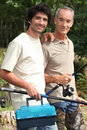 Father And Son Fishing Stock Images - 35389194