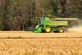 Harvesting Soybeans Royalty Free Stock Photos - 35394778