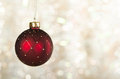 Red Christmas Ball Ornament Royalty Free Stock Image - 35397946