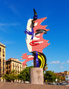 The Head Of Barcelona In Barcelona, Spain Royalty Free Stock Photo - 35398525