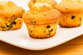 Vanilla With Chocolate Chips Muffins Royalty Free Stock Image - 35405426