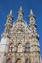 Leuven - Gothic Town Hall Royalty Free Stock Photo - 35418585