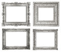 Silver Frames Stock Photos - 35427813