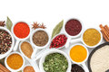 Various Spices Selection Royalty Free Stock Photography - 35443197