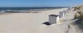 White Cabins At A Sunny Beach Stock Images - 35454154