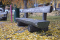 Bench In The Park Royalty Free Stock Photos - 35463848