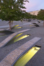 The Pentagon Memorial Features 184 Empty Benches Royalty Free Stock Photography - 35467087