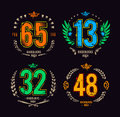 Gangster Lucky Numbers Royalty Free Stock Photos - 35468068