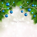 Vector Merry Christmas Greeting Card Stock Photos - 35471553