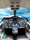 Cockpit Plane. Stock Photos - 35481333