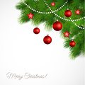 Vector Merry Christmas Greeting Card Stock Images - 35484784