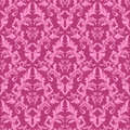 Seamless Damask Floral Pattern In Shades Of Pink. Royalty Free Stock Photo - 35489945