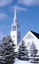 Church In Winter Stock Image - 3558601