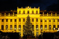 Christmas Market Schonbrunn, Vienna Stock Photo - 35503540