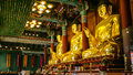 Golden Buddha Statues Royalty Free Stock Image - 35503716