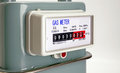 Natural Gas Meter Close Up Royalty Free Stock Images - 35504419