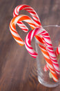 Candy Canes In A Glass Royalty Free Stock Photography - 35512547
