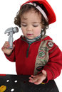Kid Playing With Toys Stock Photo - 35515640