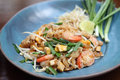 Thai Food Padthai Fried Noodle Stock Photography - 35526222